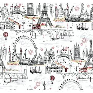 Novelty Euro Scenic Wallpaper BL0436