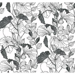Leaf Outline Wallpaper FP2660