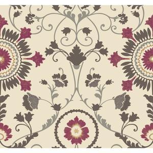 Enamel Ornament Wallpaper MS6400