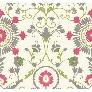 Enamel Ornament Wallpaper MS6403