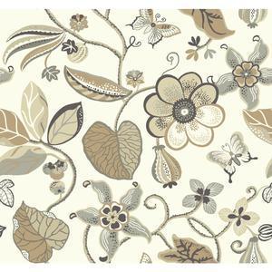 Sea Floral Wallpaper EB2002