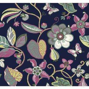 Sea Floral Wallpaper EB2004