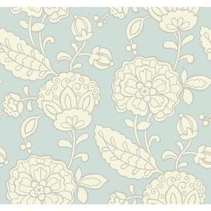 Chunky Floral Wallpaper EB2057