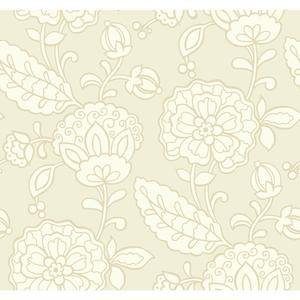 Chunky Floral Wallpaper EB2059