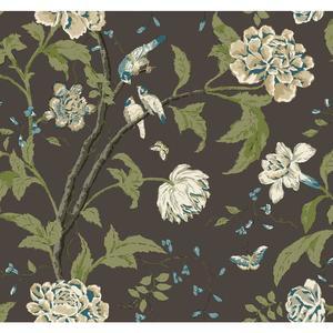 Teahouse Floral Wallpaper EB2072