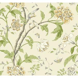 Teahouse Floral Wallpaper EB2073