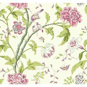 Teahouse Floral Wallpaper EB2074