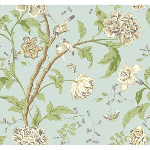 Teahouse Floral Wallpaper EB2075