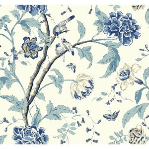 Teahouse Floral Wallpaper EB2076