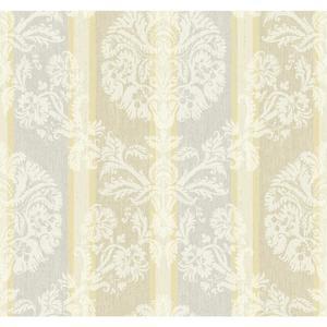 Woven Damask Stripe Wallpaper EB2091