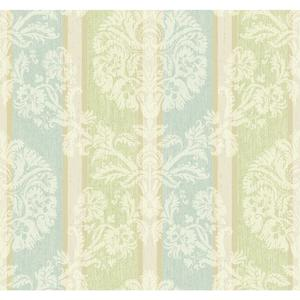 Woven Damask Stripe Wallpaper EB2093
