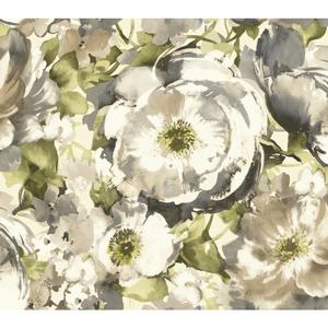 Watercolor Poppy Wallpaper WT4501