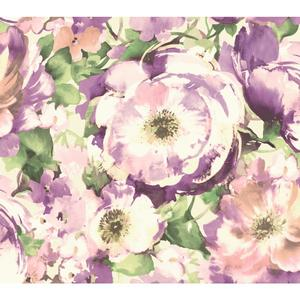 Watercolor Poppy Wallpaper WT4502