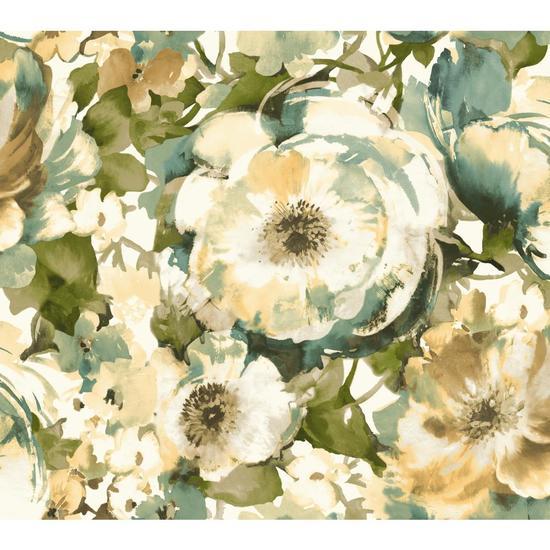 Watercolor Poppy Wallpaper WT4503