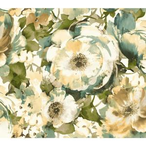 Watercolor Poppy Wallpaper WT4503