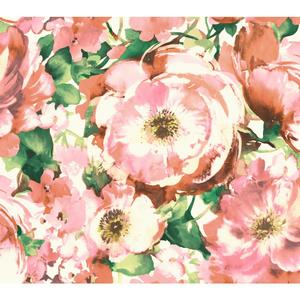 Watercolor Poppy Wallpaper WT4504