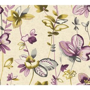 Whimsical Garden Wallpaper WT4540