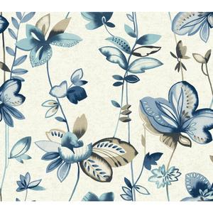 Whimsical Garden Wallpaper WT4541