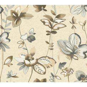 Whimsical Garden Wallpaper WT4543