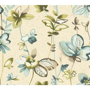 Whimsical Garden Wallpaper WT4544