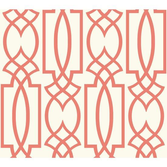 Large Lattice Wallpaper WT4602