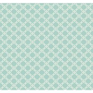 Geometric Trellis Wallpaper WT4613