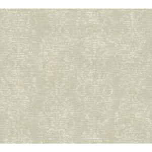 Distressed Damask Stripe Wallpaper GX8117