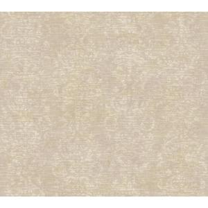 Distressed Damask Stripe Wallpaper GX8118