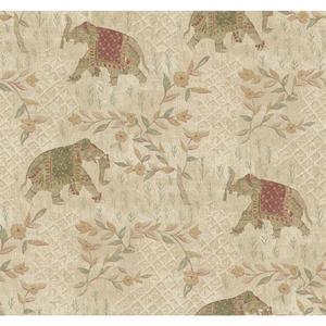 Indian Elelphant Wallpaper GX8203