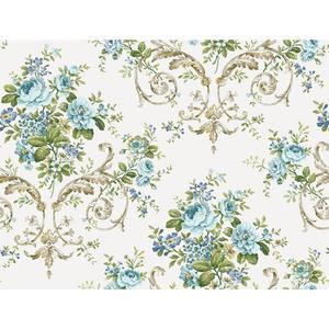 Neoclassic Floral Wallpaper PN0402