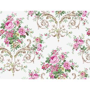 Neoclassic Floral Wallpaper PN0403