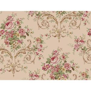 Neoclassic Floral Wallpaper PN0404