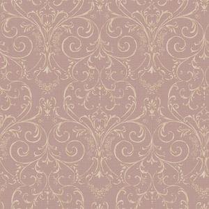 Scroll Damask Wallpaper PN0419