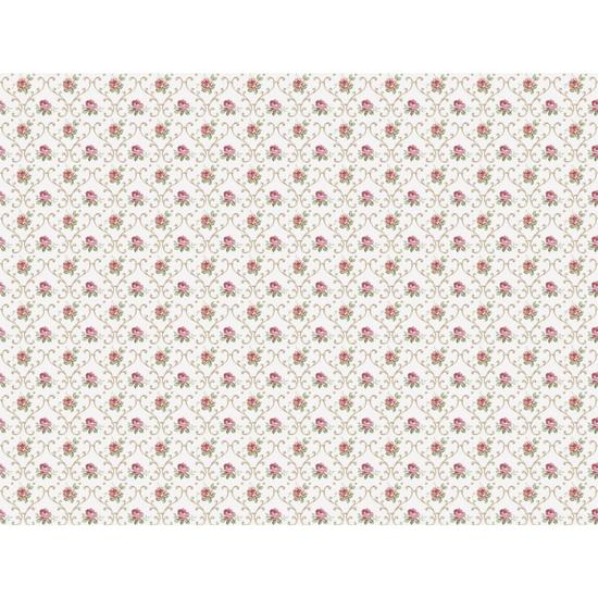Floral Trellis Wallpaper PN0442