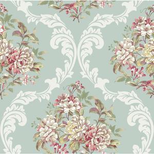 Framed Bouquet Wallpaper PN0452
