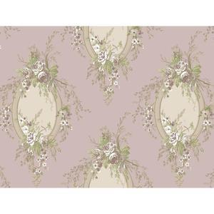 Floral Cameo Wallpaper PN0464