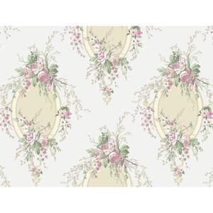 Floral Cameo Wallpaper PN0465