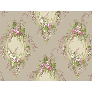 Floral Cameo Wallpaper PN0466