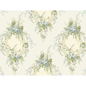 Floral Cameo Wallpaper PN0467