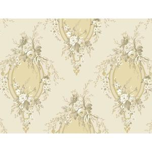 Floral Cameo Wallpaper PN0468