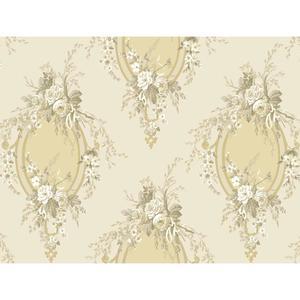 Floral Cameo Wallpaper PN0468
