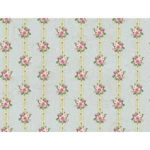 Rose Stripe Wallpaper PN0488