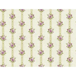Rose Stripe Wallpaper PN0490