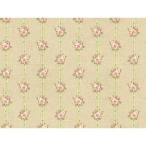 Rose Stripe Wallpaper PN0491