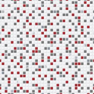 Checker Red, Black & White 20-508