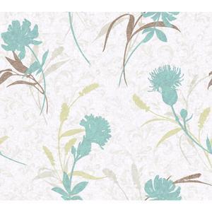 Open Floral Wallpaper WB5401