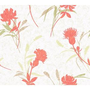Open Floral Wallpaper WB5402