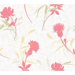 Open Floral Wallpaper WB5403