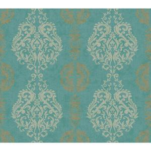 Damask Stripe Wallpaper WB5432