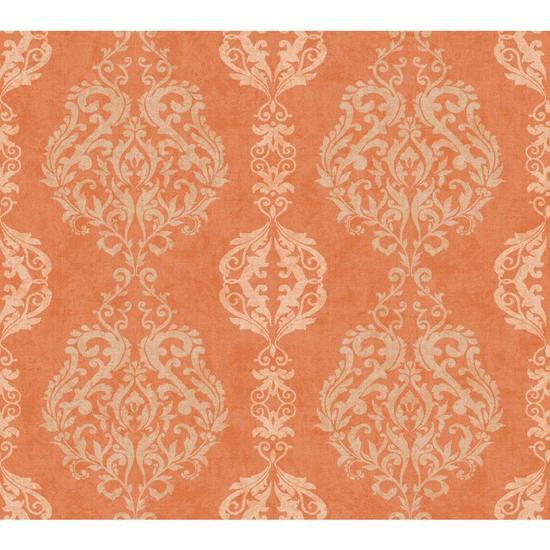 Damask Stripe Wallpaper WB5433